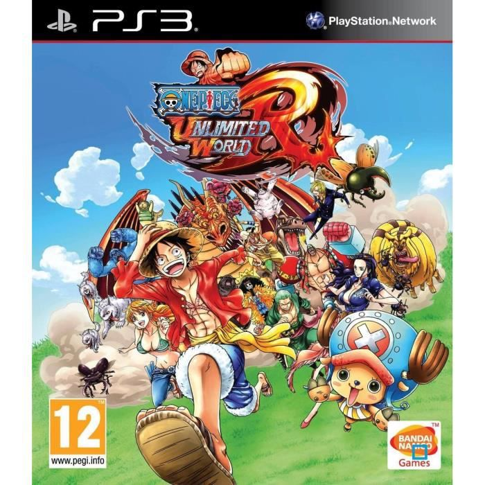 one piece unlimited world red jeu ps3 achat vente jeu ps3 one piece unltd w red ps3 cdiscount. Black Bedroom Furniture Sets. Home Design Ideas