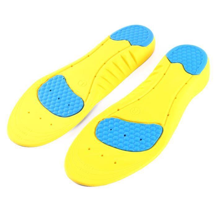 2a66435f57081 1 pair  semelle de chaussure sport gel autoTrim Gel rembourrage Running  insertion soulagement de la douleur