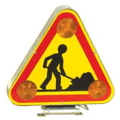 triangle signalisation chantier double face trifla  achat
