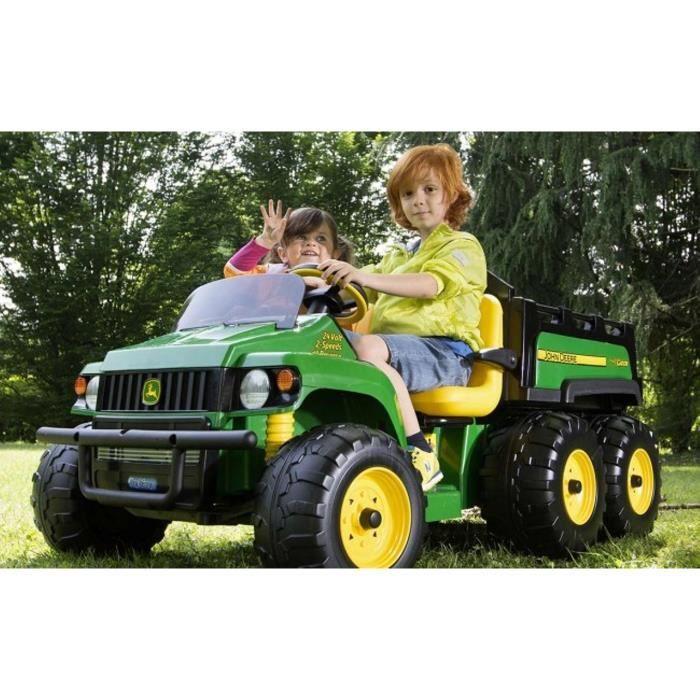 tracteur electrique 24v john deere gator hpx 6x4 achat vente voiture enfant cdiscount. Black Bedroom Furniture Sets. Home Design Ideas