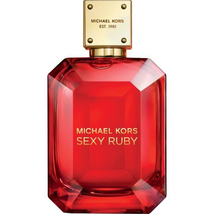 michael kors sexy ruby edp 100ml - achat / vente eau de parfum
