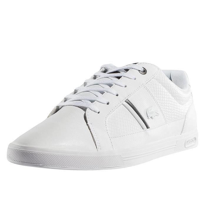 6aca1cba6b Lacoste Homme Chaussures / Baskets Europa 417 SPM Blanc - Achat ...