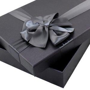 emballage cadeau boite carton noir achat vente pas cher. Black Bedroom Furniture Sets. Home Design Ideas