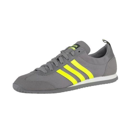 Chaussures Adidas VS Jog Blanc Blanc - Achat / / / Vente basket 10273f