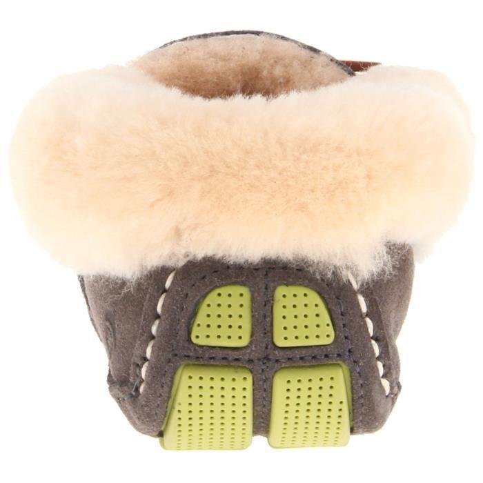 Moccasin Slipper Moxie peau de mouton Q4HIV Taille-42
