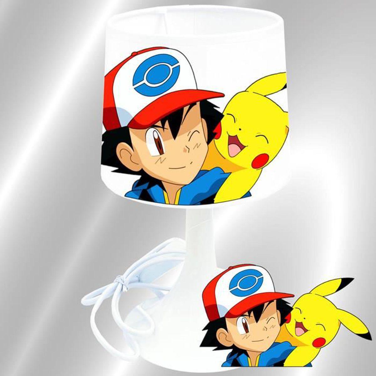Lampe Chevet Enfant 2 Pokemon Création De MUGpSqzV