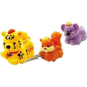 TUT TUT ANIMO Coffret Trio Fôret (avec guépard, koala et écureuil)