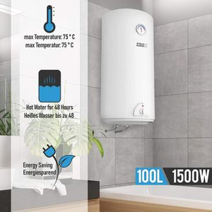 CHAUFFE-EAU Chauffe-eau électrique | Réservoir de 100 litres |