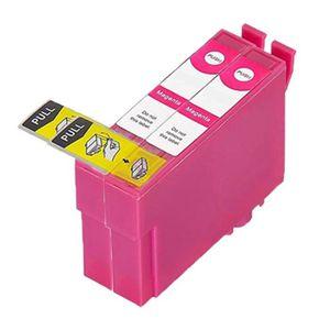 CARTOUCHE IMPRIMANTE 2 Magenta Compatible Encre Cartouches Pour Epson T