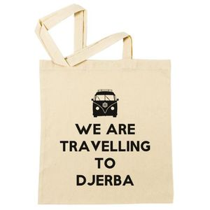 SAC SHOPPING Sac à Provisions - We Are Travelling To Djerba  Pl