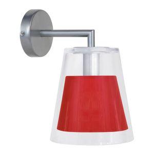 APPLIQUE  Applique Melrose - Métal, verre et abat-jour coton