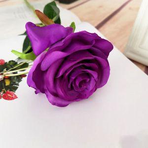 FLEUR ARTIFICIELLE 1pcs Bouquet de fleur lierre artificielle mariage,