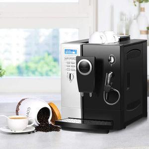 MOULIN À CAFÉ COSTWAY Machine à Café Automatique,Cafétière Autom