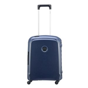 VALISE - BAGAGE Delsey Belfort 3 Slim 4 Wiel Cabin Trolley 55 blue