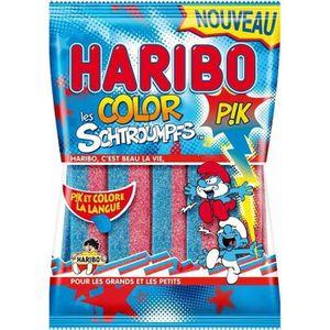 CONFISERIE DE SUCRE HARIBO Bonbons fantaisies acidifiés Color Pik Les