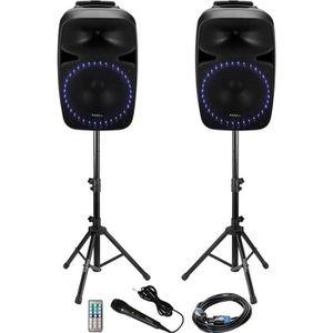 ENCEINTE COLONNE IBIZA PKG15A-SET Système de sonorisation avec tune