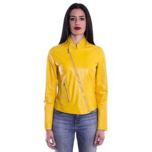 Veste femme jaune pas cher