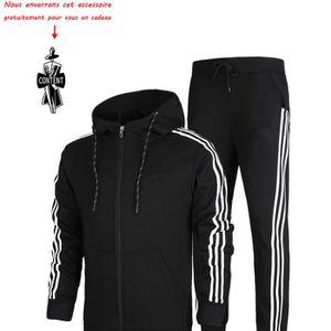 (Blouson et pantalon) de survêtement homme Marque Luxe Veste Pour Homme  Pull à capuche a55fecc1546