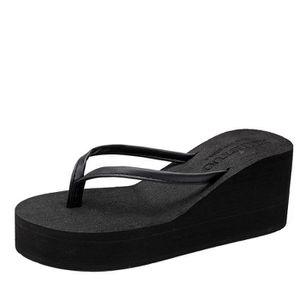 b0fe49420c4adc SANDALE DE PISCINE Tongs Femmes Talon Compensé Chaussures bohémien P