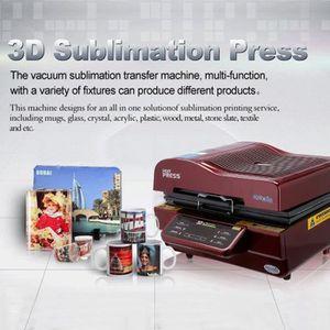 PRESSE À CHAUD Presse à chaud de sublimation 3D pour cas de télép