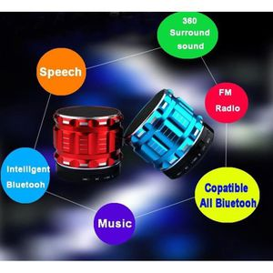 ENCEINTE NOMADE Basse Super Mini Bluetooth haut-parleur portable s