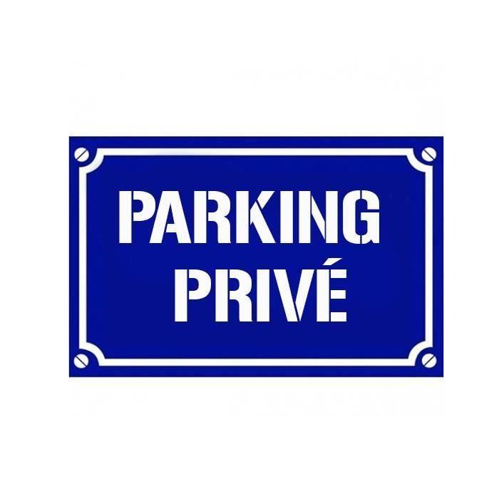 panneau parking prive achat vente panneau parking prive pas cher cdiscount. Black Bedroom Furniture Sets. Home Design Ideas
