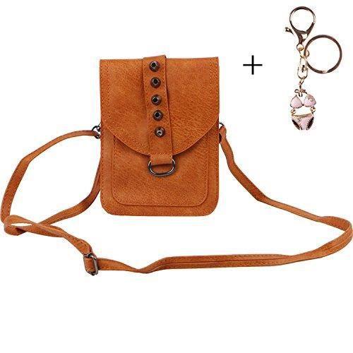 Poches Petit Roomy Sac à bandoulière de téléphone sac à bandoulière téléphone portable Wallet Pouch ZRVVR
