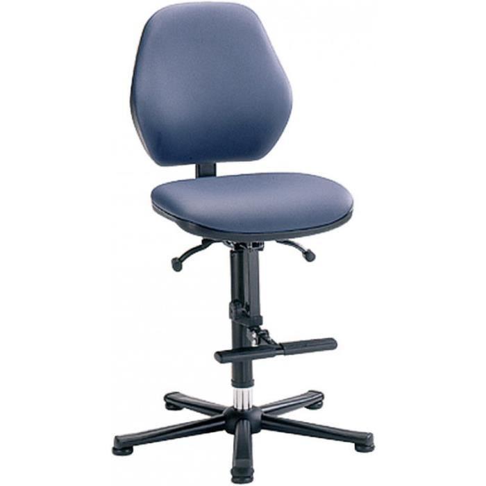 Chaise de bureau de laboratoire sur roulettes