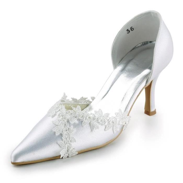 Jia Jia Wedding A318 chaussures de mariée mariage Escarpins pour femme