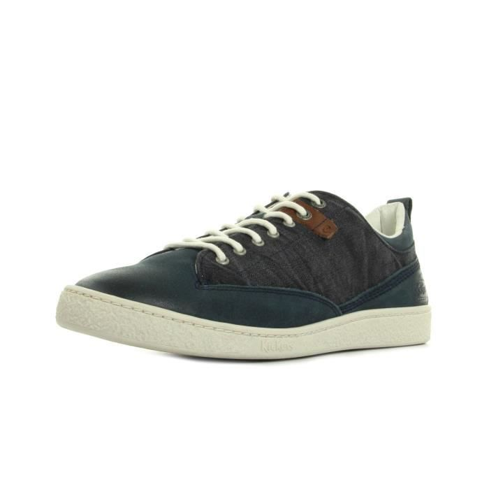 Kickers Chaussures Santa Fe Blanc Gris Kickers soldes