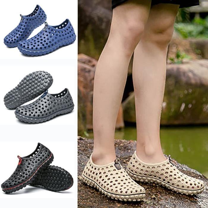 Évider antidérapants Chaussures Sandales d'été style hommes