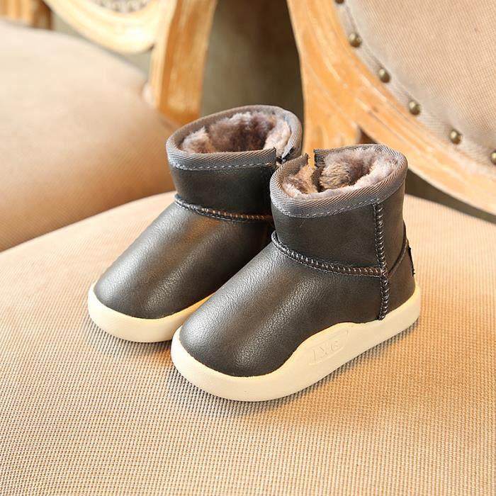 JOZSI Basket Enfant hiver Sport Plus cachemire Ultra léger Chaussure BJYG-XZ211Violet28-1 BycAxW1dX5