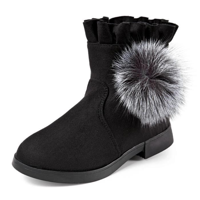 Enfants Chaussures bottine Bébé filles Peluche Mode