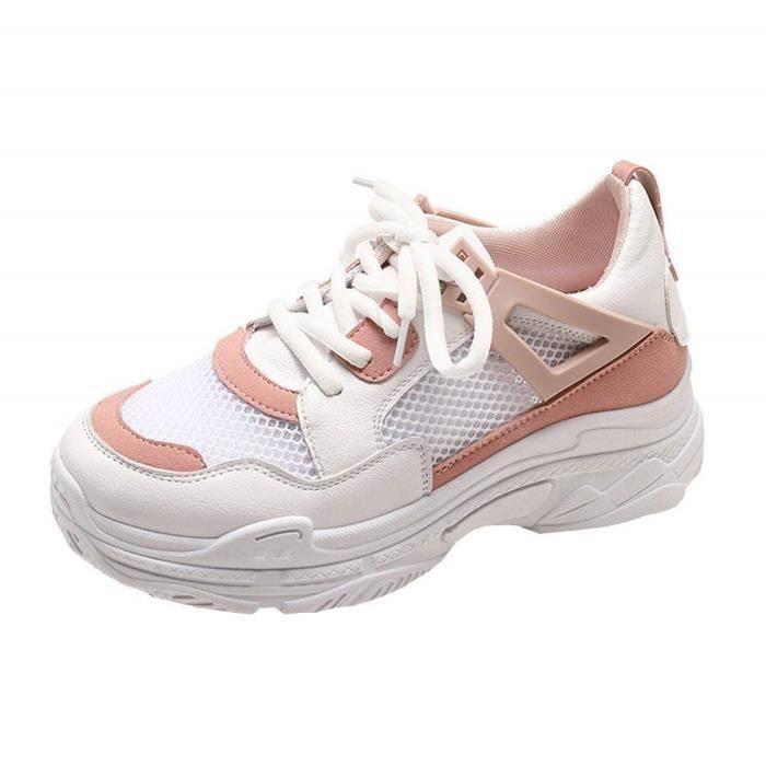 Filles Épais Shake Femmes Hiver Mode Sneakers Nouveau Sneakers Automne Fashion À Chaussures Wedges Fond OqaZxwUw