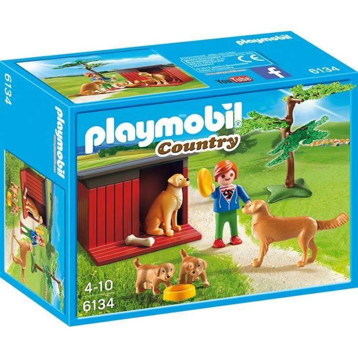 playmobil chien achat vente jeux et jouets pas chers. Black Bedroom Furniture Sets. Home Design Ideas