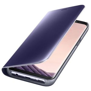 samsung etui clear view cover galaxy s8 achat vente. Black Bedroom Furniture Sets. Home Design Ideas