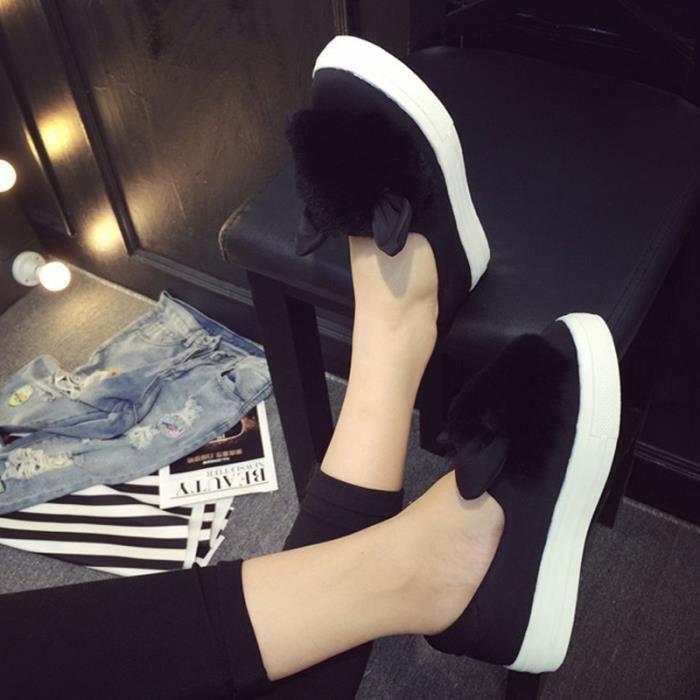 Hiver xz060noir39 Chaussures Dtg Plate jaune Femmes noir Gris PxwHqUz
