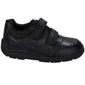 Chaussures en cuir Kickers Moakie Reflex pour Petit Garçon en noir sB5Bm