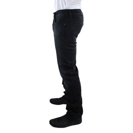 bd0f55df Diesel Larkee 0854A Jeans Noir Noir - Achat / Vente jeans - Cdiscount