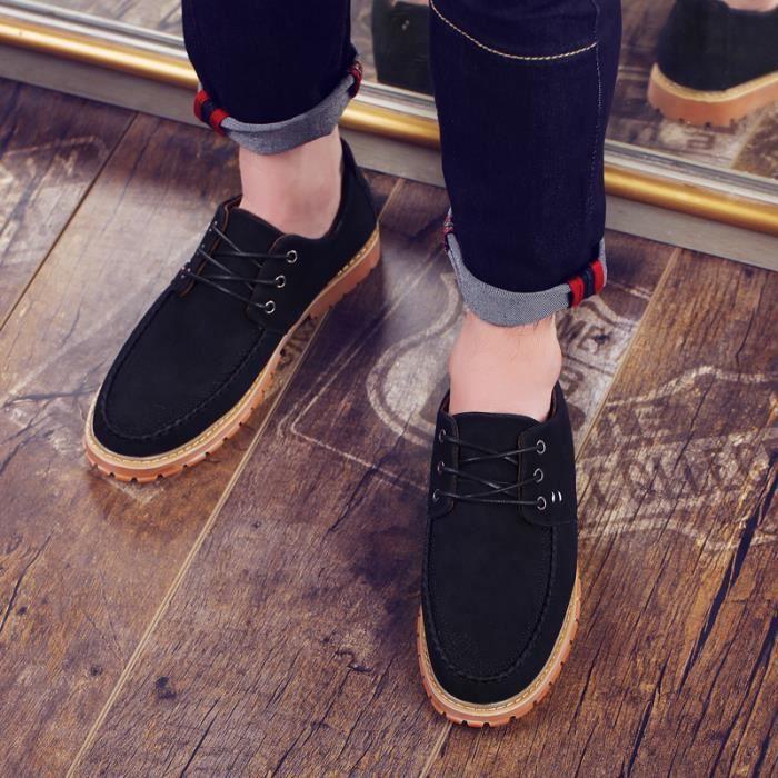 Mocassins pour homme Chaussures de villeChaussures en daim Chaussures à la main Chaussures confortables Chaussures pour l'automne Je6vyo9IAa