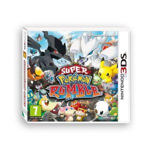 JEU 3DS SUPER POKEMON RUMBLE / 3DS