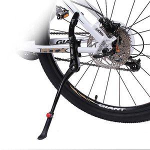 B/équille de Bicyclette B/équille Lat/érale de Bicyclette en Alliage dAluminium R/églable pour 22 24 26 27 Pouces V/élo de Rangement de V/élo Int/érieur Accessoire de V/élo