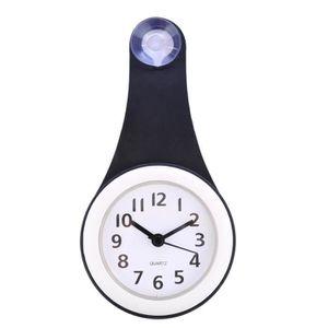 Horloge Murale Silencieuse Impermable De Salle Bains Mnage Avec Le Ventouse