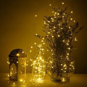 GUIRLANDE DE NOËL Guilande lumineuse 20 LEDs pour Fêtes de Noël Déco