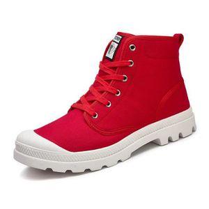 7c1fbcb7720 Bottes rouge femme - Achat   Vente Bottes rouge femme pas cher ...