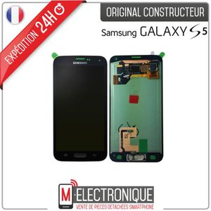 ecran lcd tactile samsung galaxy s5 achat vente ecran lcd tactile samsung galaxy s5 pas cher. Black Bedroom Furniture Sets. Home Design Ideas