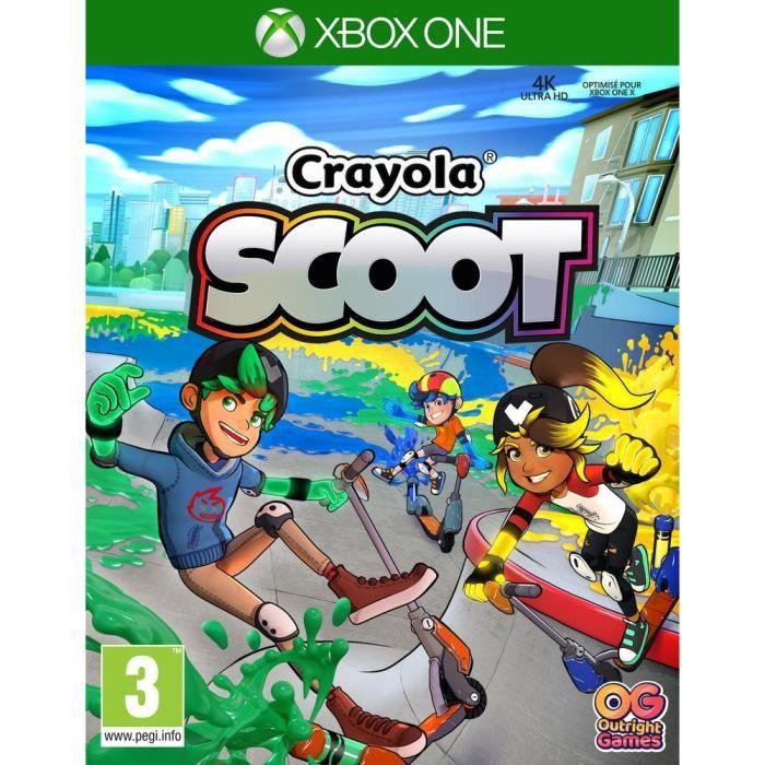 Crayola Scoot Jeu Xbox One