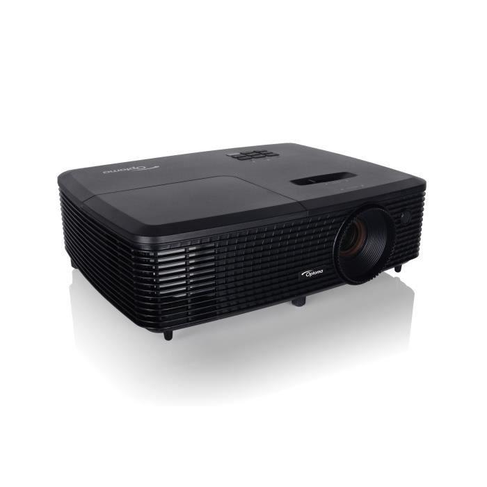 OPTOMA DX349 Vidéoprojecteur DLP Full 3D - HDMI - Noir
