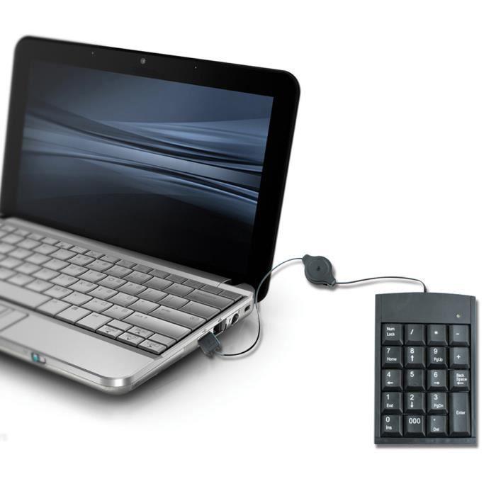 PAVÉ NUMÉRIQUE iEnshey Pavé clavier USB numérique calculatrice ch