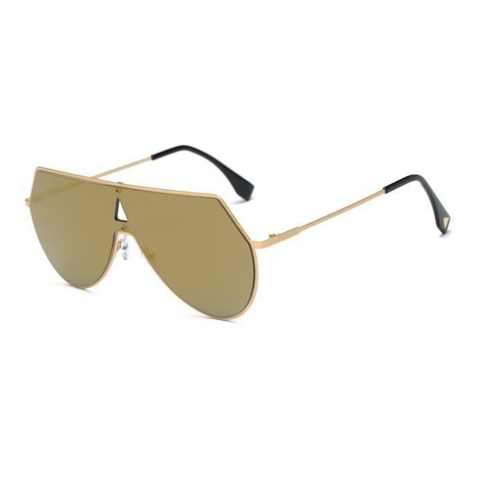 An-1127Femmes Hommes Vintage Retro place monture de lunettes unisexe de mode Lunettes de soleil aviateuror